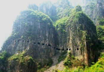Le tunnel de Guoliang, en Chine