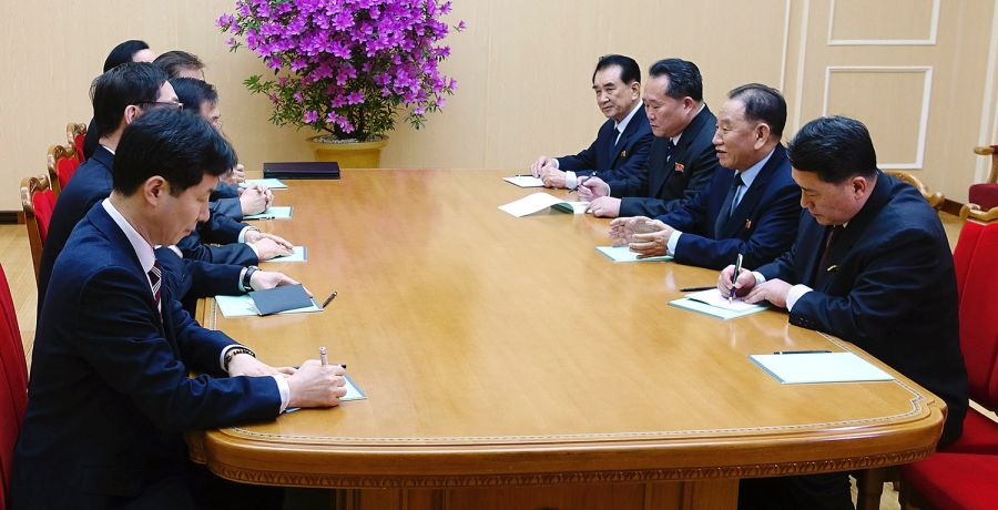 rencontre avec coréen