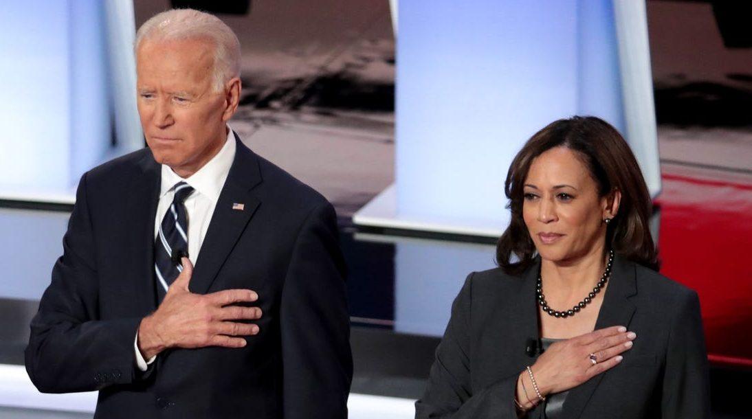 Avec Kamala Harris, Joe Biden se campe (relativement) à gauche ...