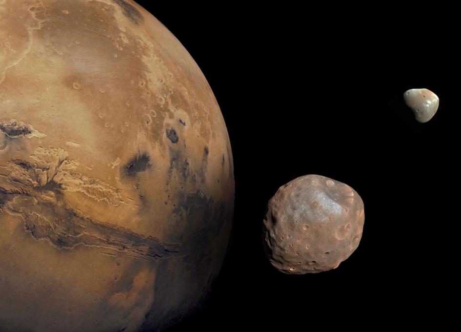 L'ancêtre commun des lunes de Mars - PIEUVRE.CA